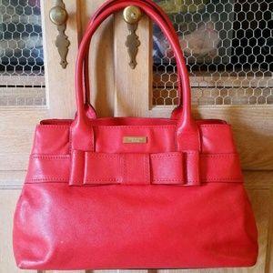 Kate Spade Villabella Avenue Elena Tote Bag Red